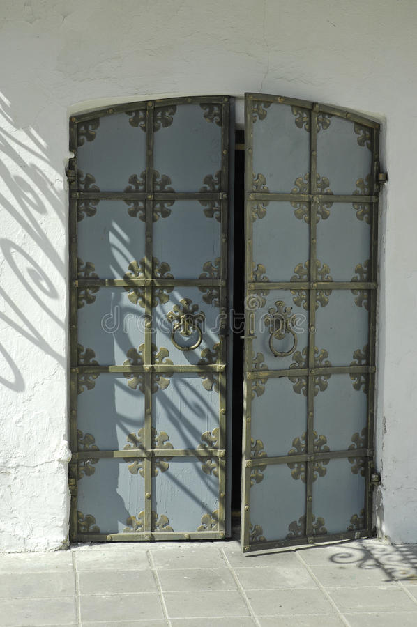 Free Door Of A Church With Ornament Stock Images - 14678934