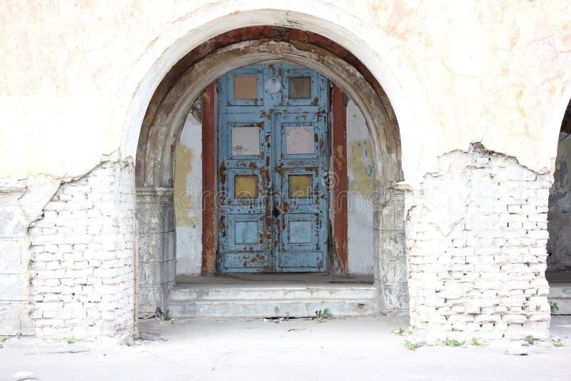Door. An old artistic door royalty free stock image