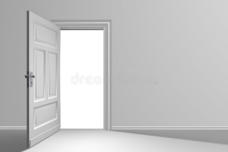 Door open royalty free stock photography