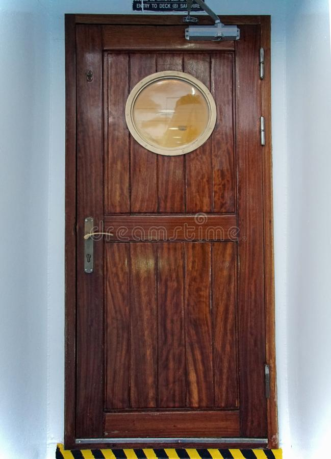 Download Door With Porthole On The Liner. Sea Transport. Stock Photo - Image of & Door With Porthole On The Liner. Sea Transport. Stock Photo - Image ...