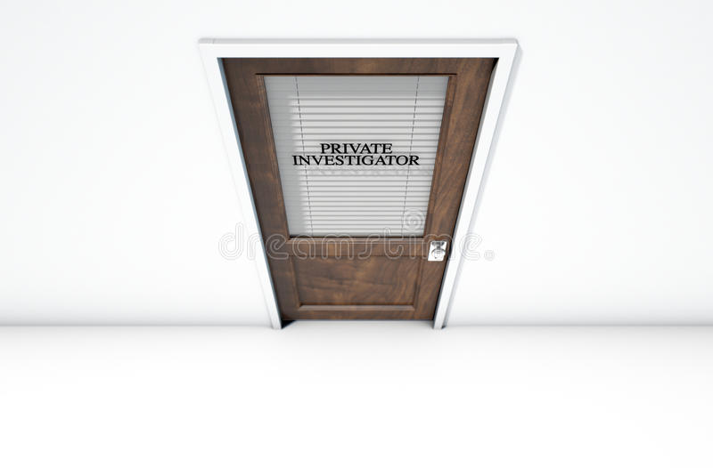 Download Door In Private Eye Room Stock Photo. Image Of Solitary   77198042