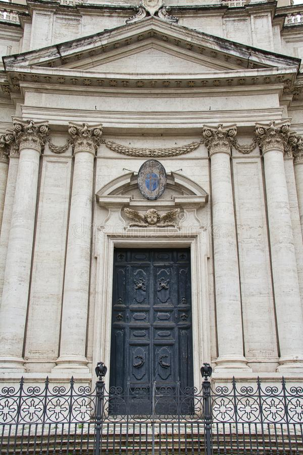 Door with Roman Style Architecture stock photos