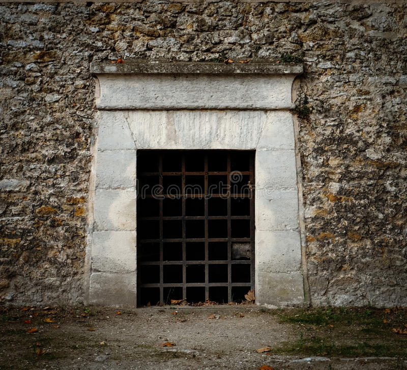 Download A Door With Rusty Iron Bars - Like An Entrance To A Dungeon Tomb & A Door With Rusty Iron Bars - Like An Entrance To A Dungeon Tomb Or ...