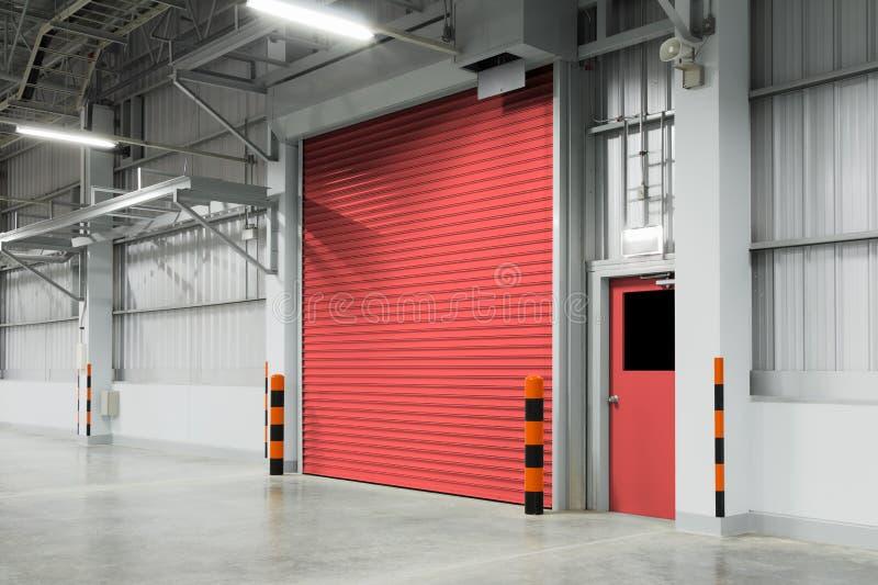 Automatic Garage Door Stock Image Image Of Urban Marking