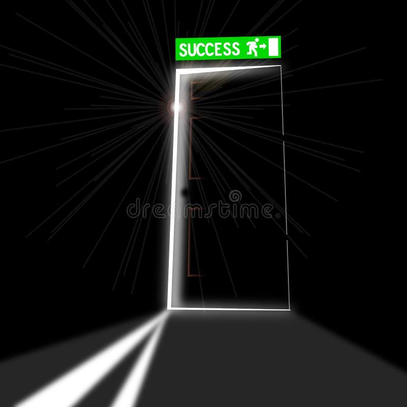 Download Door of success stock vector. Illustration of office - 26558600