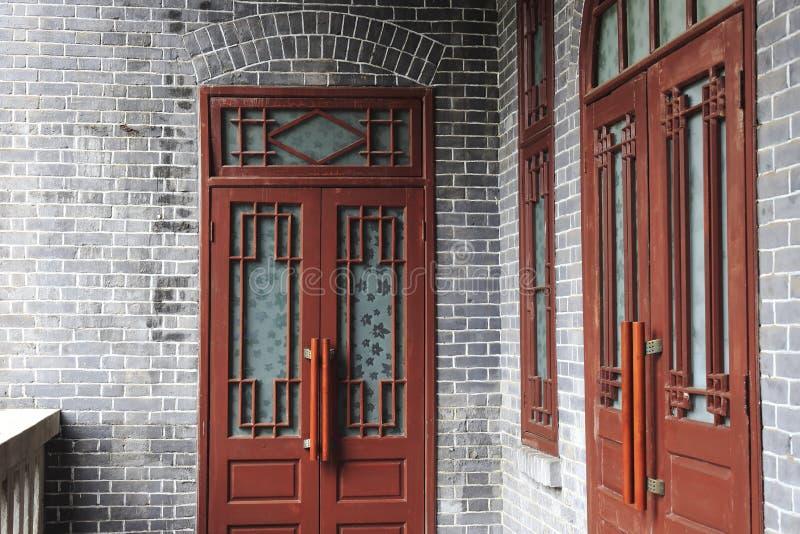 door of teyuan royalty free stock photography