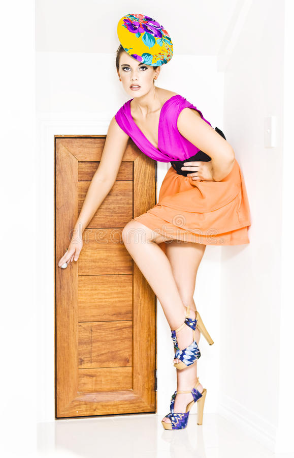 Download Door To Fashion Stardom stock image. Image of entry, expand - 24053113