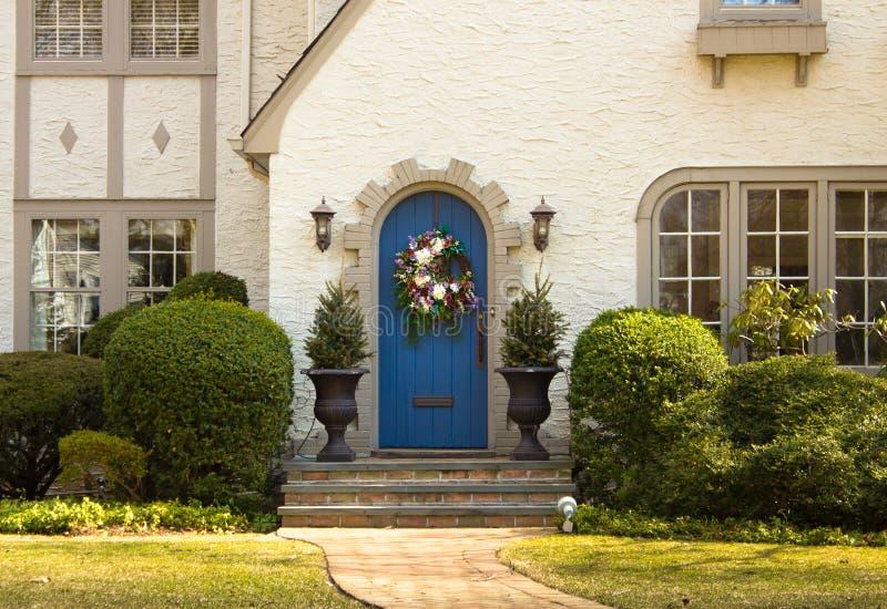 Door to Home stock photo