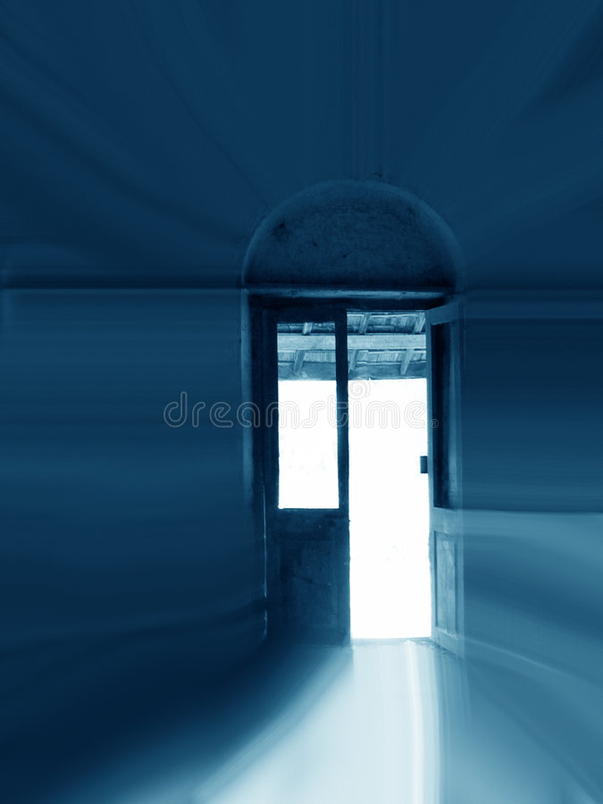 Door to Light royalty free stock photos
