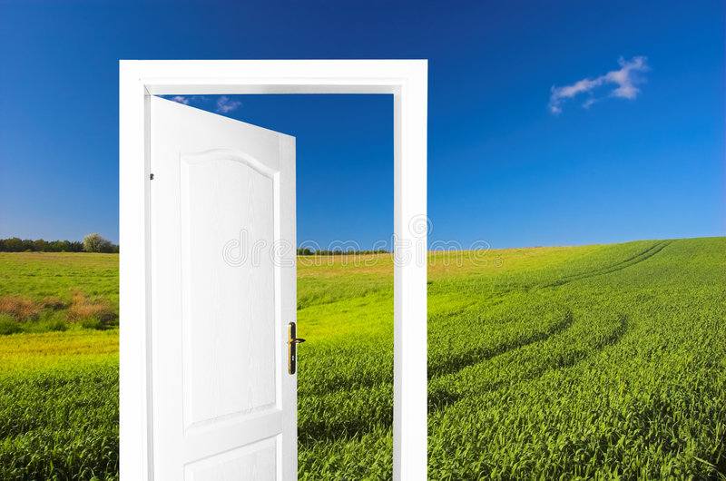 Download Door to new world stock image. Image of freedom, life - 1763459