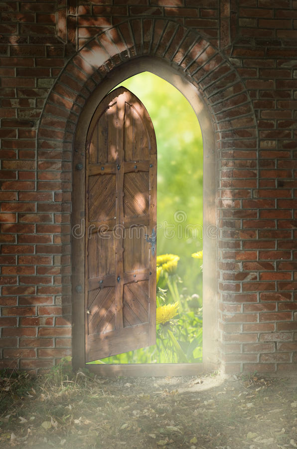 Free Door To New World Royalty Free Stock Image - 21447646