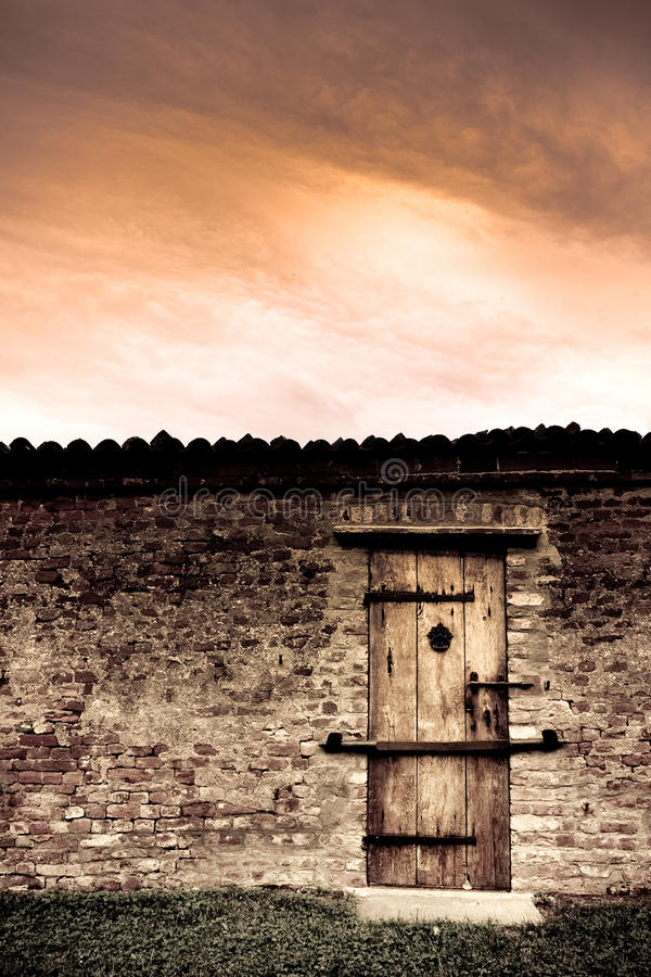 Free Door To Nowhere Stock Image - 9590341