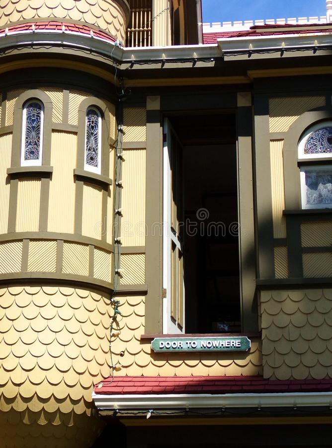 Free Door To Nowhere - Winchester Mystery House, San Jose, California Stock Image - 120020701