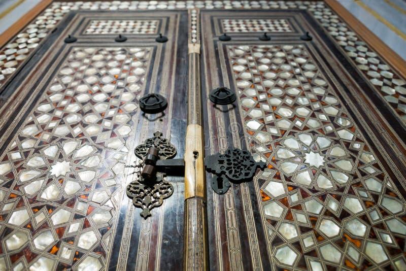 A door in Topkapi palace in Istanbul stock photos