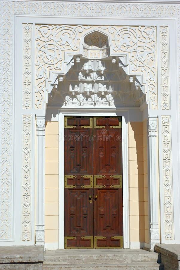 The door of Turkish Bath Pavilion.