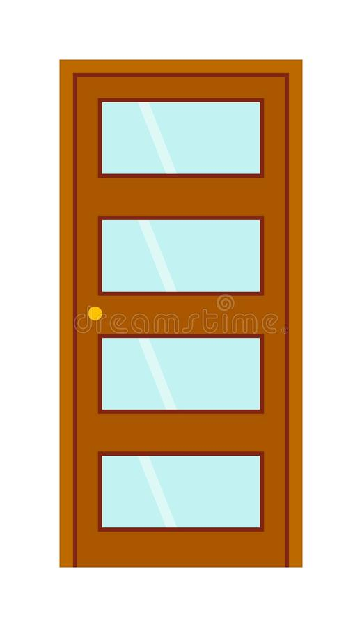 Download Door vector illustration. stock vector. Illustration of metal - 74646321  sc 1 st  Dreamstime.com & Door vector illustration. stock vector. Illustration of metal - 74646321
