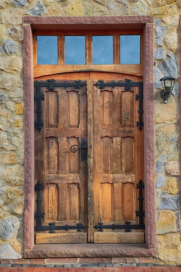 Door, Wall, Wood, Window stock photo