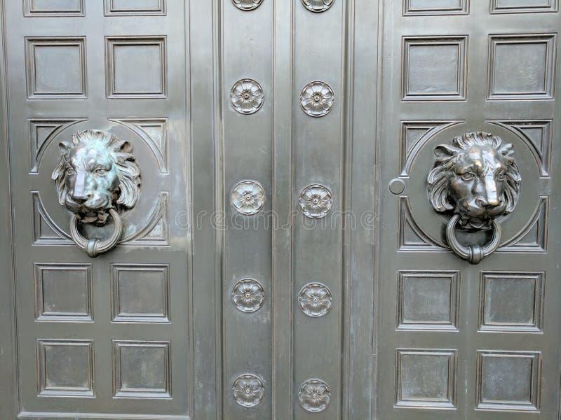 Door, Window, Glass, Metal stock photo