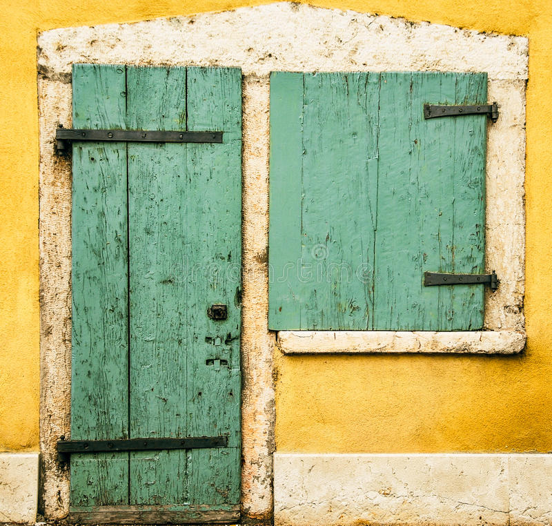 Door and window royalty free stock photos