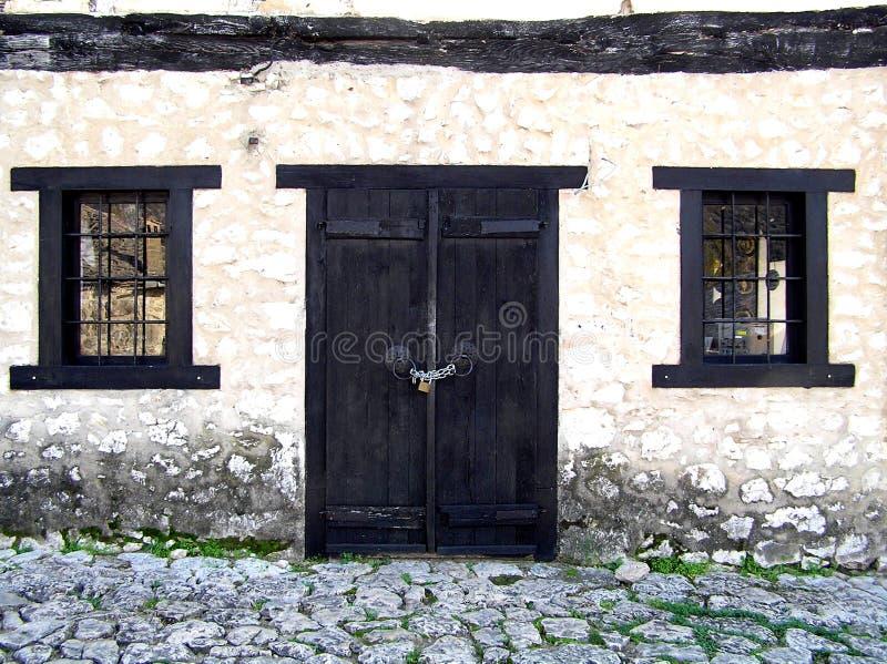 Door and windows royalty free stock photo
