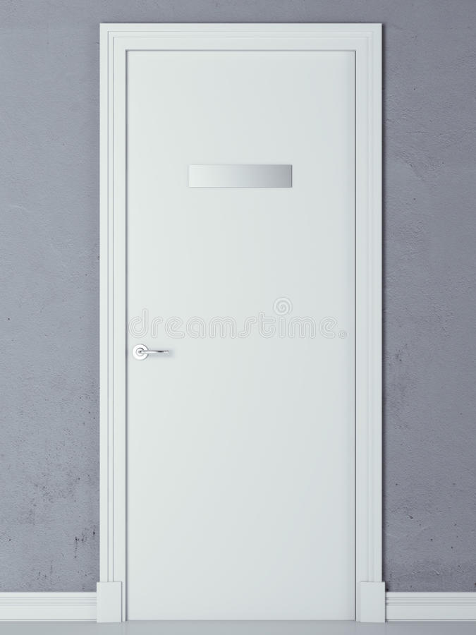 Free Door With Nameplate Stock Images - 45620464