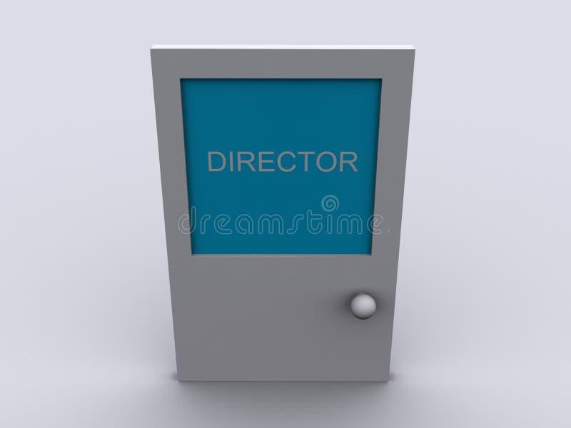 Download Door with word DIRECTOR stock illustration. Illustration of door - 13292741