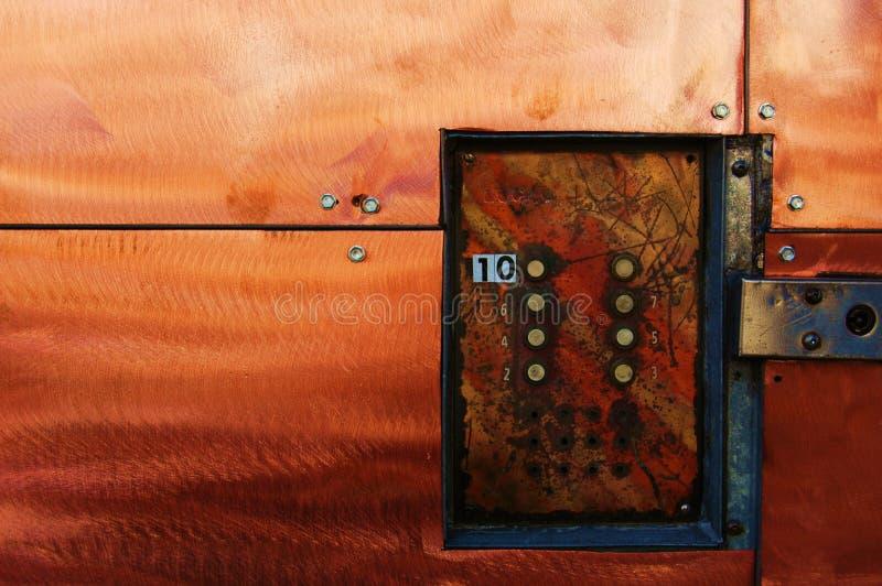 doorbell βιομηχανικός στοκ φωτογραφία με δικαίωμα ελεύθερης χρήσης