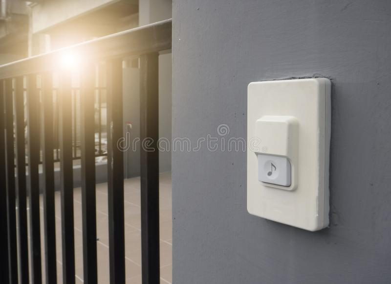 doorbell стоковое фото