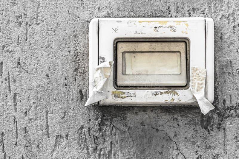doorbell stary fotografia stock