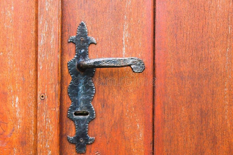 Doorknob εκλεκτής ποιότητας επιφάνεια λεπτομέρειας στοκ εικόνες με δικαίωμα ελεύθερης χρήσης