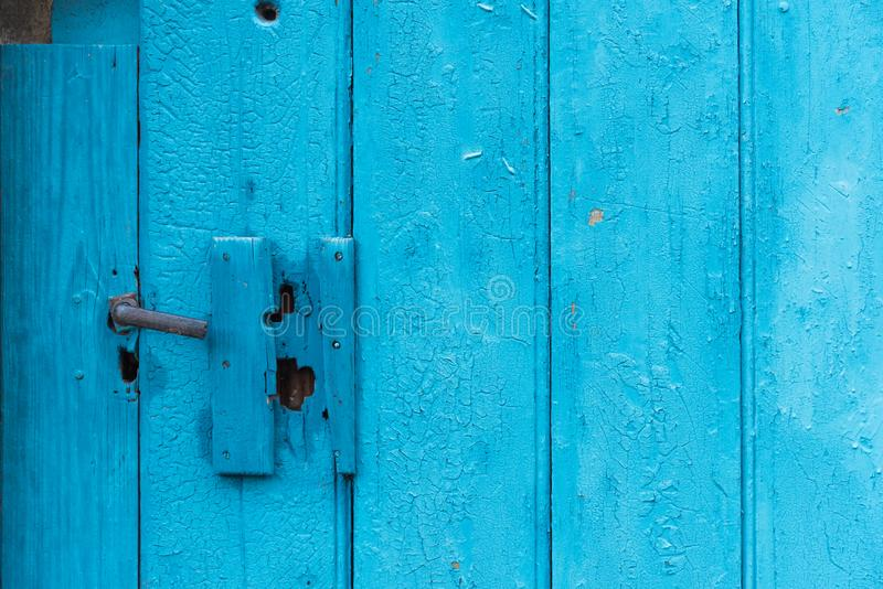 Doorknob στο παλαιό υπόστεγο πινάκων στοκ εικόνες με δικαίωμα ελεύθερης χρήσης