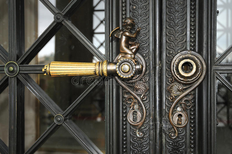 Doorknob imagem de stock