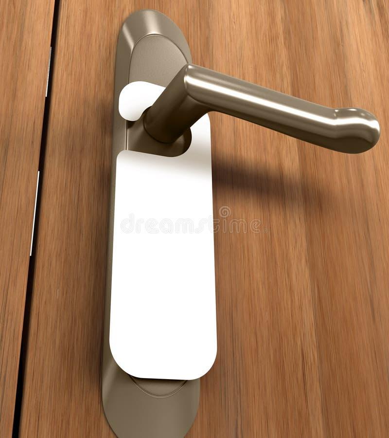 Doorknob ilustração royalty free
