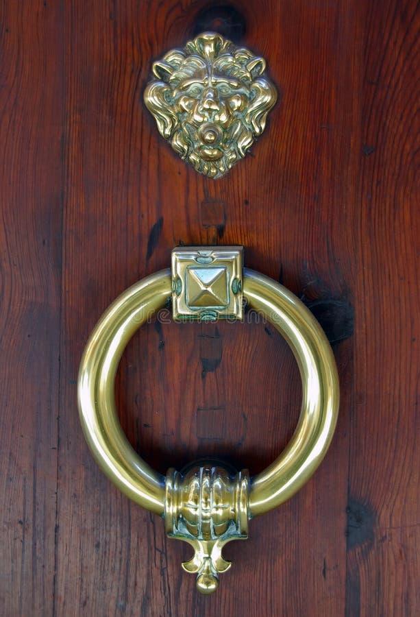 Doorknob clássico fotografia de stock