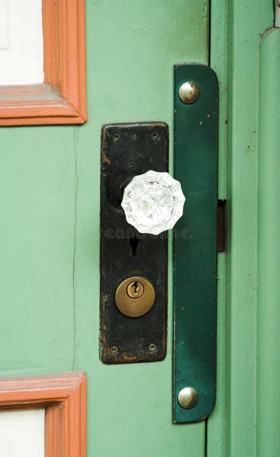 Doorknob de cristal imagens de stock royalty free