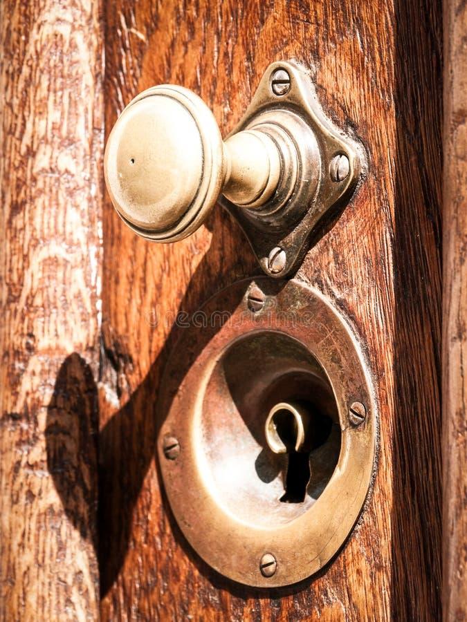 Doorknob velho fotos de stock royalty free