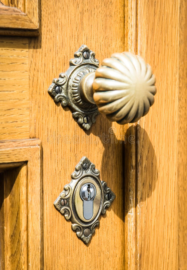 Doorknob velho imagem de stock royalty free