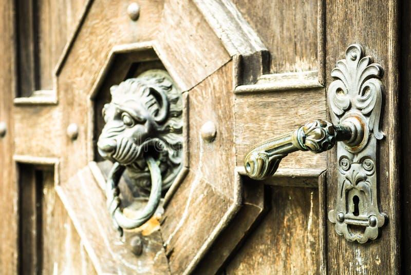 Doorknob velho foto de stock royalty free