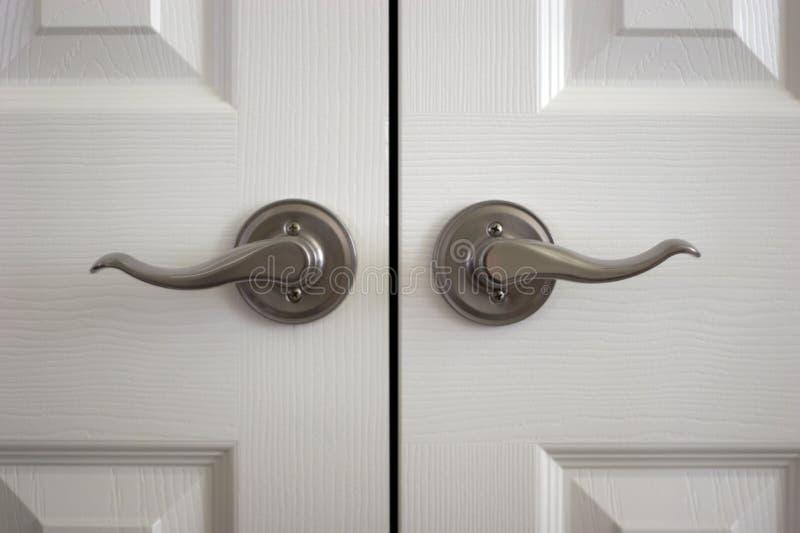 Doorknobs fotografia de stock
