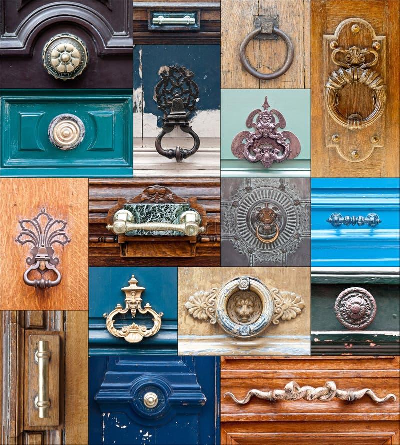 doorknocker 免版税库存图片