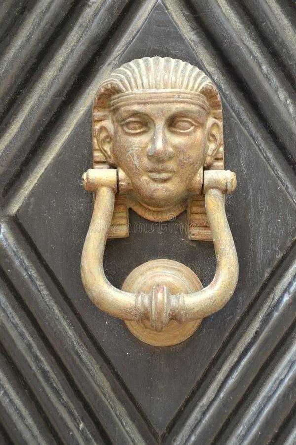doorknocker στοκ φωτογραφία με δικαίωμα ελεύθερης χρήσης