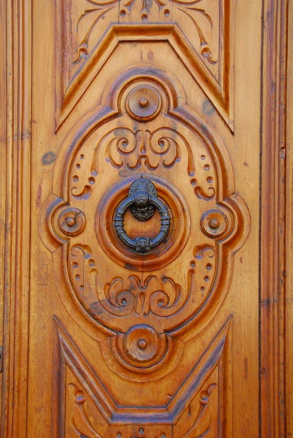 Doorknocker fotografia stock libera da diritti