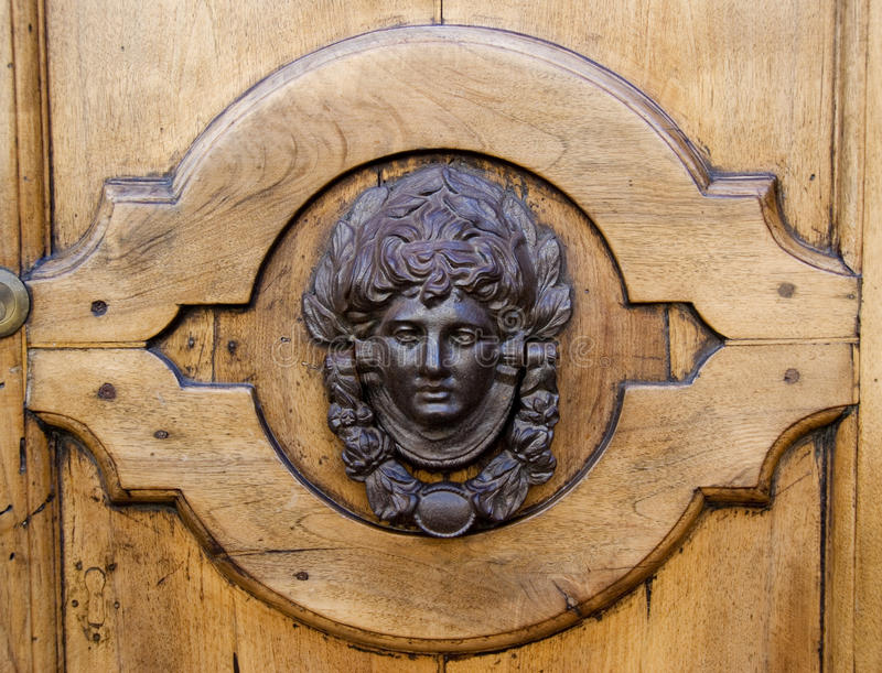 doorknocker 库存图片