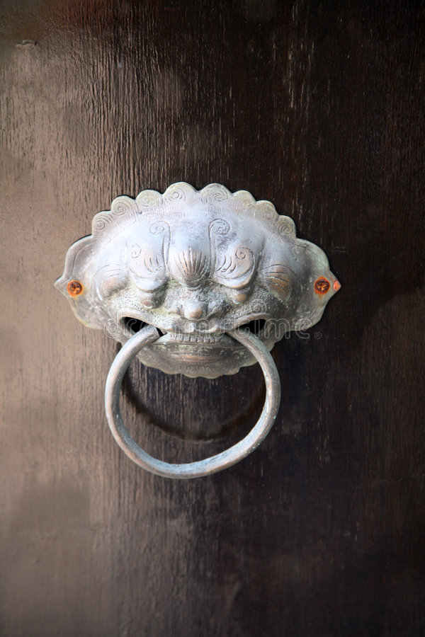 doorknocker metalu obrazy stock