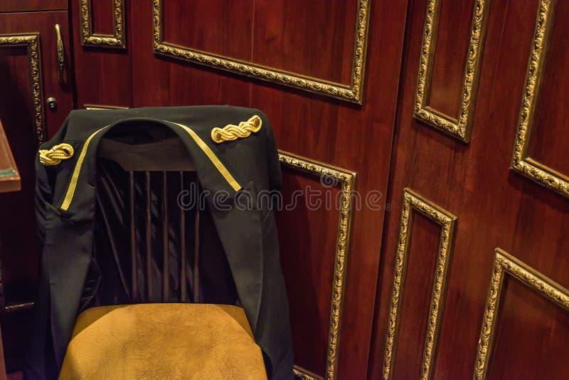 Doorman ` s miejsce w hotelu fotografia stock