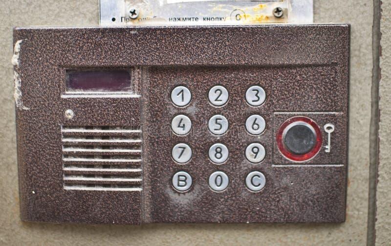 doorphone 免版税图库摄影