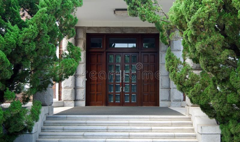 Download Doors stock photo. Image of front, residential, building - 10130752
