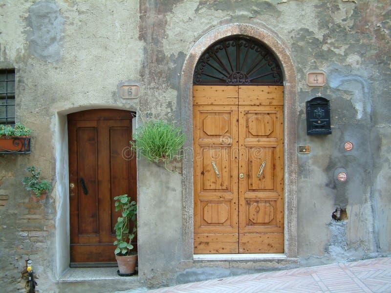 Doors royalty free stock photo