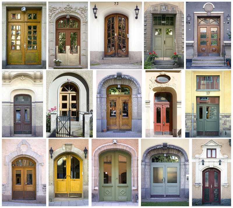 Download Doors stock photo. Image of entry, composition, apartment - 15624444