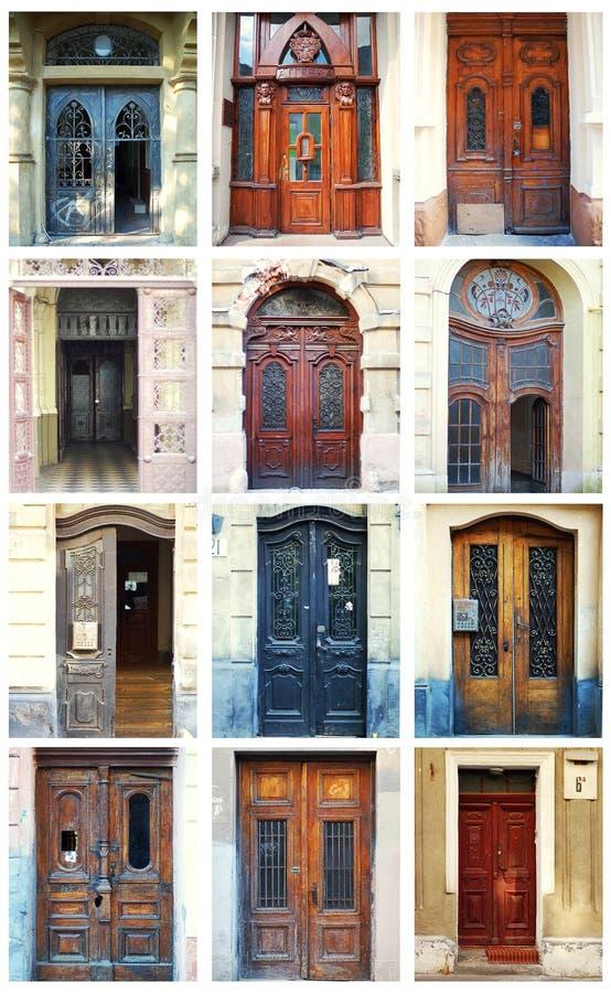 Download Doors stock image. Image of exterior, details, graffiti - 17402819